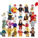 Minifigures set Zombie Shark Man Banana Guy Lego Compatible Toy