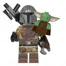 Mandalorian Baby Yoda Minifigures Lego Compatible Star Wars The Mandalorian
