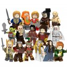 The Hobbit The Desolation of Smaug movie set Minifigures Lego Compatible Toy