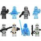 Phasma Blackhole Stormtrooper Transparent Stormtrooper Minifigures Lego Compatible Star Wars set