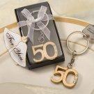 50th Anniversary Keychain