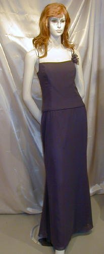 After Six Amethyst Formal Dance Party Bridesmaid Prom Sz 10 #579