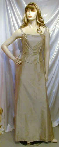 Attractive NEW Belsoie Formal Gown Bridesmaid Prom Cruise Sz 8  #738