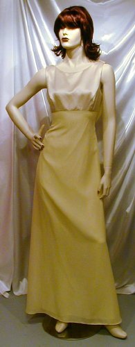 Chic New Mother Of The Bride Gown Alfred Angelo Bridesmaid Formal Cruise Prom Sz. 9-10  #724