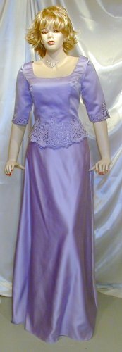 SOLD 686 Perfect Mori Lee MOB Bridesmaid Wedding Formal Gown Sz 13 14 NEW