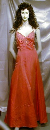 543 Hot New Faviana Ball Gown Formal Party Prom Cruise Sz 13 14 NR
