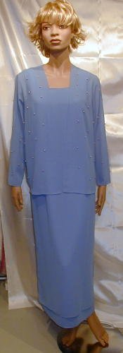 Lovely M O B Gown Dress Cruise Theatre Sz 12 New #553