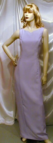 Gorgeous Formal Gown Bridesmaid Dance MOB Cruise Lilac Sz 12 #755