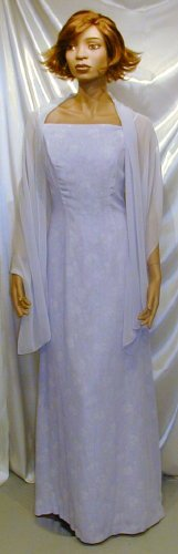 New MOB Formal Gown Cruise Prom Date Dance W/Wrap Sz 12  #671