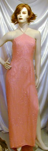 Hot New Beaded Formal Gown Pageant Prom Contest Dance12 #714