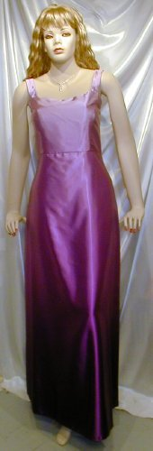 Beautiful New Silhouettes Formal Gown MOB Bridesmaid Cruise Sz 14  #991