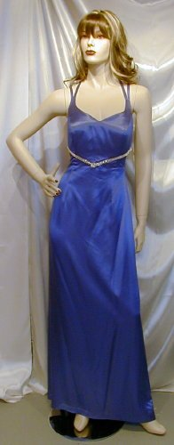 Dramatic Royal Formal Gown Prom Entertainer Cruise NEW 10 #629