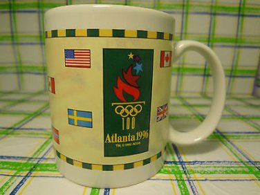 1996 Atlanta Olympics Mug Ceramic Coffee Tea Cup 8 Oz