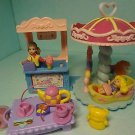 Fisher Price Mattel Doll House Accessories Lot 7 Pcs