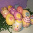 Easter Egg Decoration Decorative Ceramic Lot 12