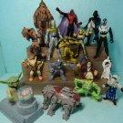 Action Figures Star Wars Mcdonalds Mix Lot 16 Pieces