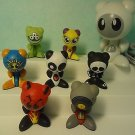 UB Funkeys Hub Docking Station Characters Lot 8 Pieces