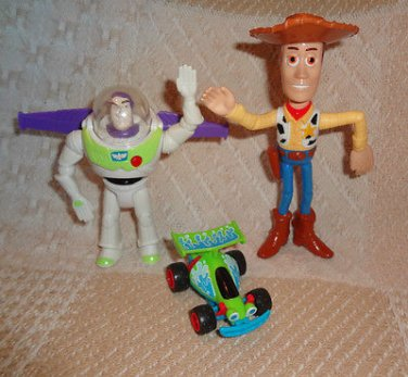 Toy Story Disney Collectable Play Set Toy Figures Cake Toppers Mixed Lot 3
