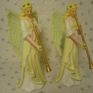 Shabby Christmas Chic Angel Ornaments Table Decoration Nativity Set Accessory