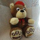 "Goldilocks The Three Bears Baby Bear Interactive Talking Story Plush Animal 12"""