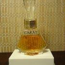 """HTF Vintage 4711 CARAT Eau de cologne Perfume Glass Miniature Bottle Germany 3"""""""