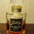 Vintage Mini Miniature Perfume Glass Bottle French LE GALION SORTILEGE 2 1/4""