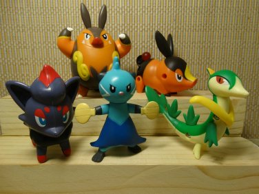 Mcdonalds Mcds Pokemon Action Figures 2011 &  2012