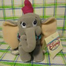 "Disney Store Dumbo Pink Hat  Plush Stuffed Toy Doll 8"" NWT"