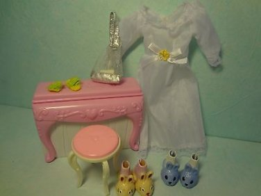 Clothes For Barbie Doll Furniture Accessories Mix Lot 8