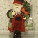 "Santa Claus Christmas Ornament Victorian Old World Santa's Workshop New 10"""