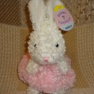 Easter Bunny Rabbit Surprise Candy Pouch Purse Plush Stuffed Animal NWT Aurora