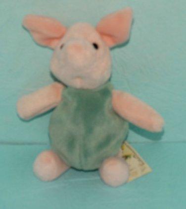 """Gund Clasic Winnie the Pooh Piglet Bean Bag 7"""" New"""