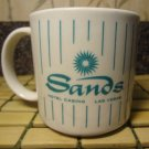 Sands Casino Mug Las Vegas Hotel Coffee Ceramic Tea Cup Vintage