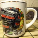 Lehigh Valley ONE PAINTED LOCOMOTIVE LOCO TRAIN CERAMIC Coffee TEA LATTE Mug Cup