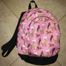 Backpack Pink Horse Girls Wildkin Pockets Used