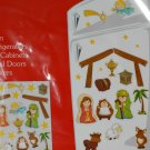 Nativity Scene Decoration Magnetic Figures Fridge Locker File Cabinet