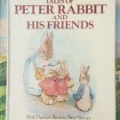 Giant Treasury of Peter Rabbit by Beatrix Potter 1989 Hardcover 1976 Tale