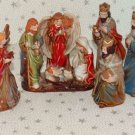 Christmas Nativity Set Ceramic Figures New Lot 5