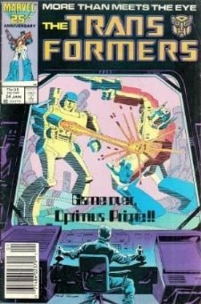 Marvel Transformers # 24 Generation 1 Original Series