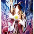 WIZARD POSTER FROM 1997  RARE!  24 BY 36 INCHES