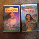 Collection of Pocahontas VHS Movies