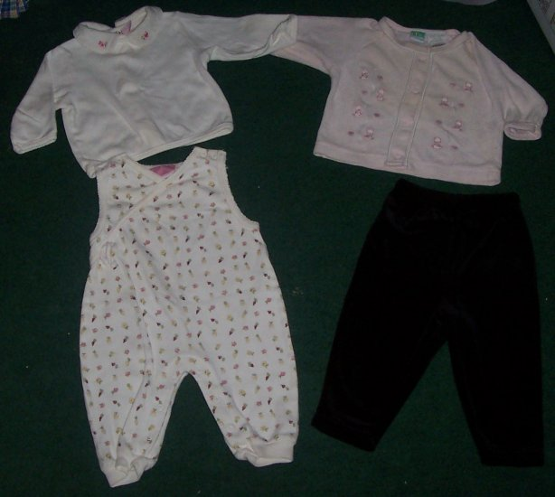 Lot of Girls Clothes Size 6/9 months