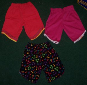 Lot of Girls Capri's Size 12 months