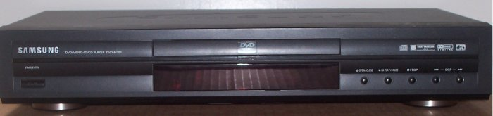 The Samsung DVD-M101 DVD player