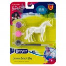 Breyer stablemate  paint and play morgan horse