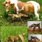 Hartland  bronz nursing filly