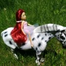 Breyer classic red hair doll