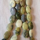 ~ 15 YELLOW TURQUOISE14mmX8mm   SEMI PRECIOUS BEADS ~ spf65a