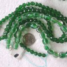 MIXED GLASS BEADS 6mm to 9mm 200+  GLASS  BEADS ~Z75