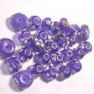 26 COLBOLT WITH COLORED ACCENTS GLASS  BEADS    LOT ~A17